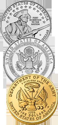 2011 U.S. Army Commemorative Coin Program Reverses