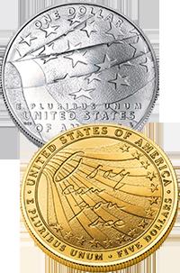 2012 Star-Spangled Banner Commemorative Coin Program Reverses