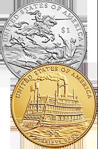 2016 Mark Twain Commemorative Coin Program Reverses