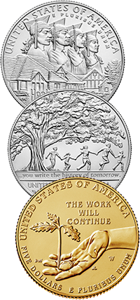2017 Boys Town Centennial Commemorative Coin Program Reverses