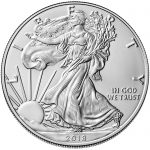 2018 American Eagle Silver One Ounce Bullion Coin Obverse