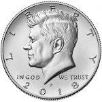 2018 Kennedy Half Dollar Uncirculated Obverse Philadelphia