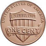 2018 Lincoln Penny Uncirculated Reverse