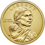 2018 Native American One Dollar Uncirculated Coin Obverse