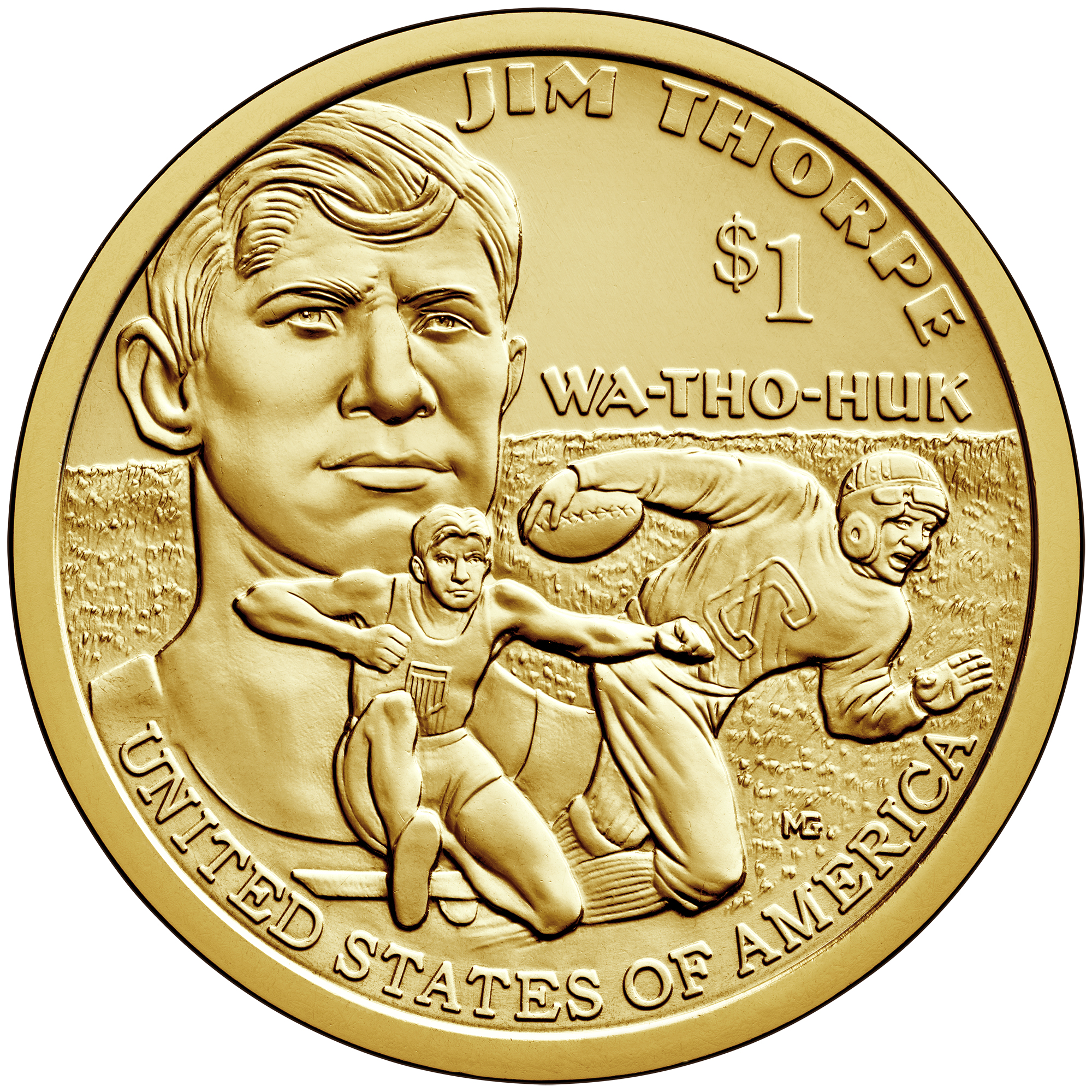 2018 Native American One Dollar Uncirculated Coin Reverse