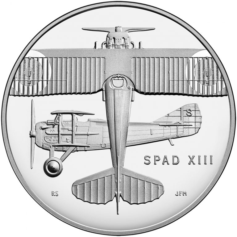 2018 World War I Centennial Commemorative Silver Medal Air Service Obverse