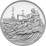 2018 World War I Centennial Commemorative Silver Medal Coast Guard Obverse