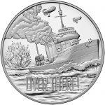 2018 World War I Centennial Commemorative Silver Medal Navy Obverse