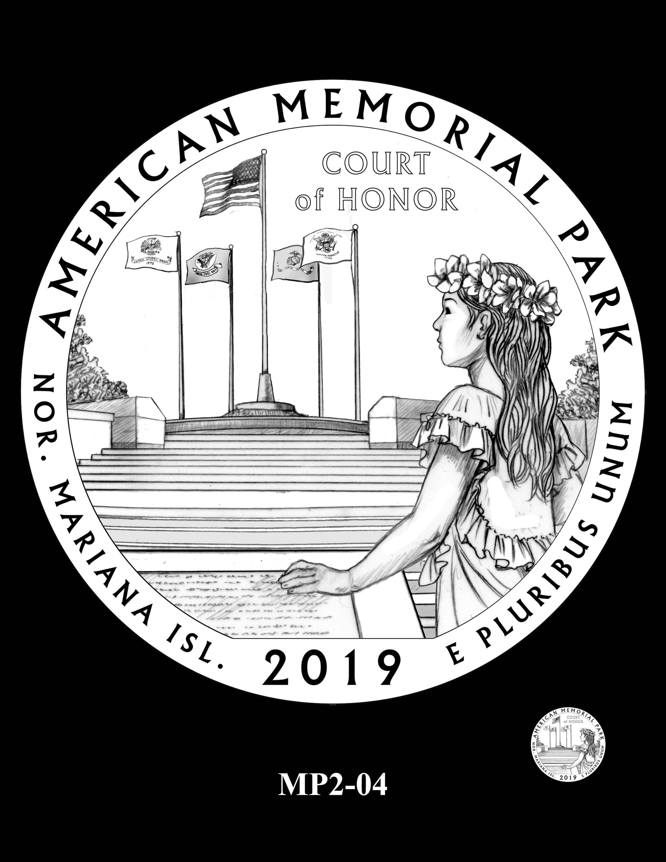 MP2-04 -- 2019 America the Beautiful Quarters® Program