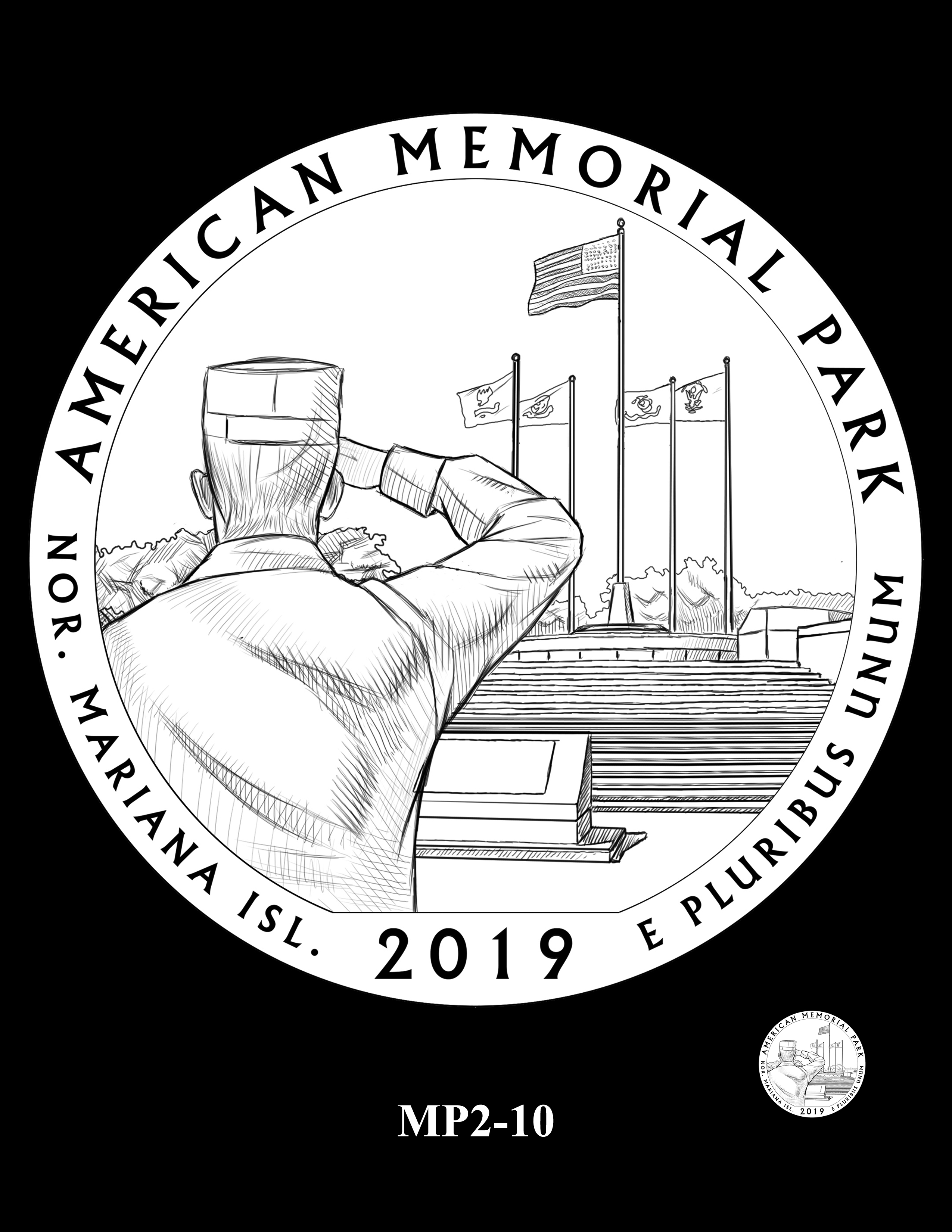 MP2-10 -- 2019 America the Beautiful Quarters® Program