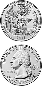 2018 pictured rocks national lakeshore quarter obverse and reverse
