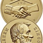 George Washington and Abraham Lincoln peace medal obverse and reverse