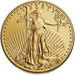 2018 American Eagle Gold Half Ounce Bullion Coin Obverse
