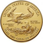 2018 American Eagle Gold Half Ounce Bullion Coin Reverse