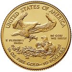 2018 American Eagle Gold Quarter Ounce Bullion Coin Reverse