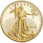 2018 American Eagle Gold Quarter Ounce Proof Coin Obverse