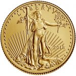 2018 American Eagle Gold Tenth Ounce Bullion Coin Obverse