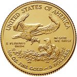 2018 American Eagle Gold Tenth Ounce Bullion Coin Reverse