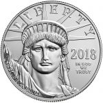 2018 American Eagle Platinum One Ounce Bullion Coin Obverse