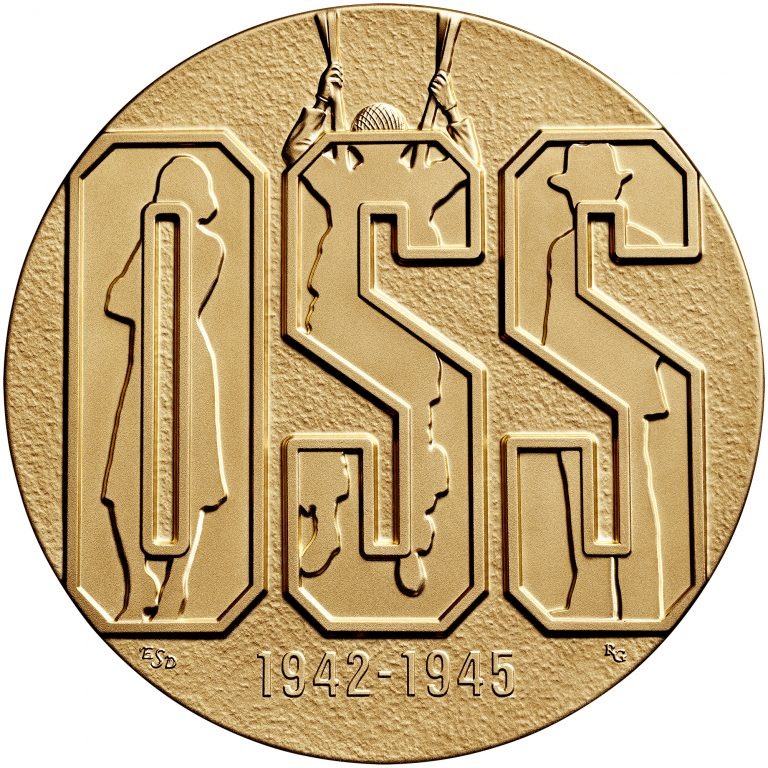 Office of Strategic Services OSS Bronze Medal Obverse