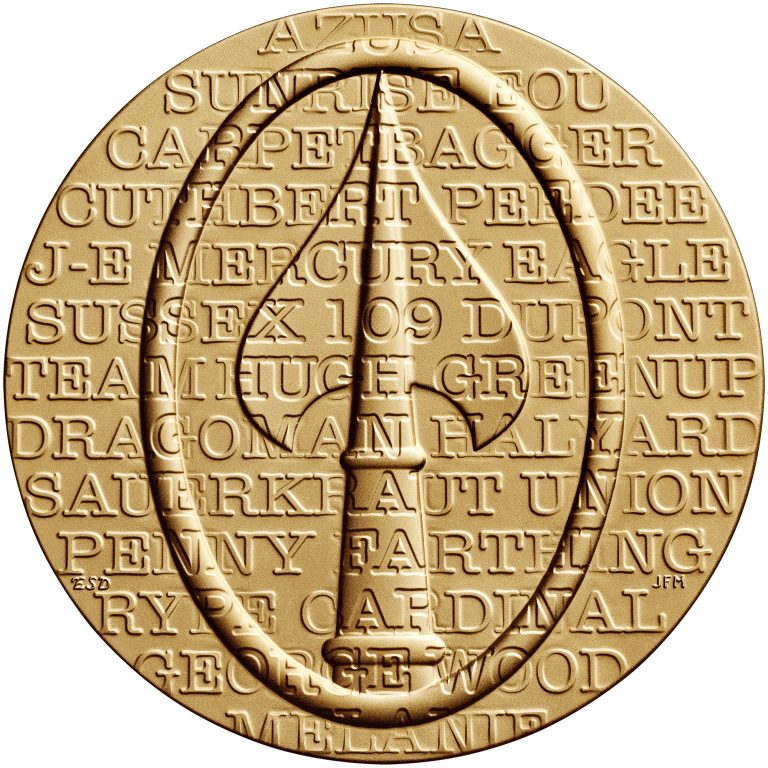 Office of Strategic Services OSS Bronze Medal Reverse