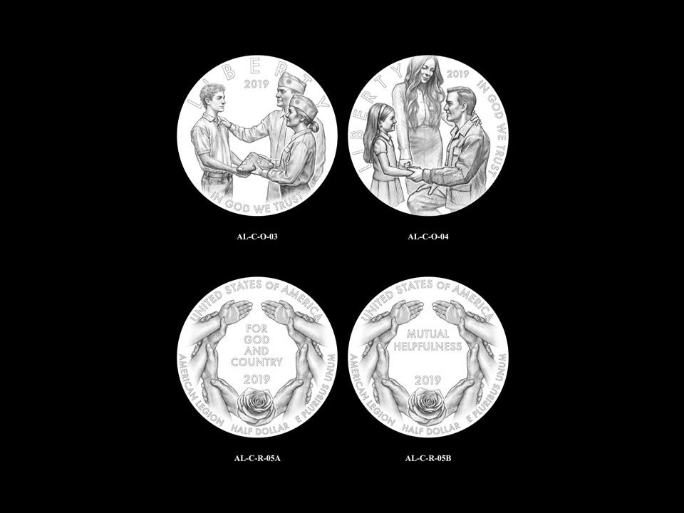 AL-Clad Pair 03 -- 2019 American Legion 100th Anniversary Commemorative Coin Program - Clad Pairings