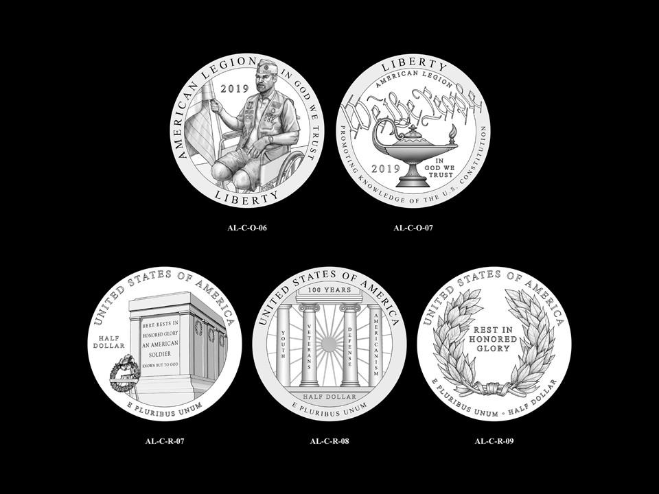 AL-Clad Pair 05 -- 2019 American Legion 100th Anniversary Commemorative Coin Program - Clad Pairings