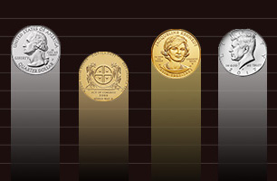 graph of coins