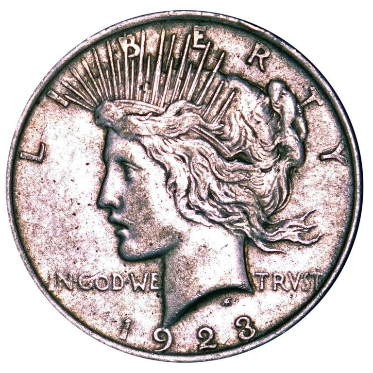 1923 Peace Dollar Obverse
