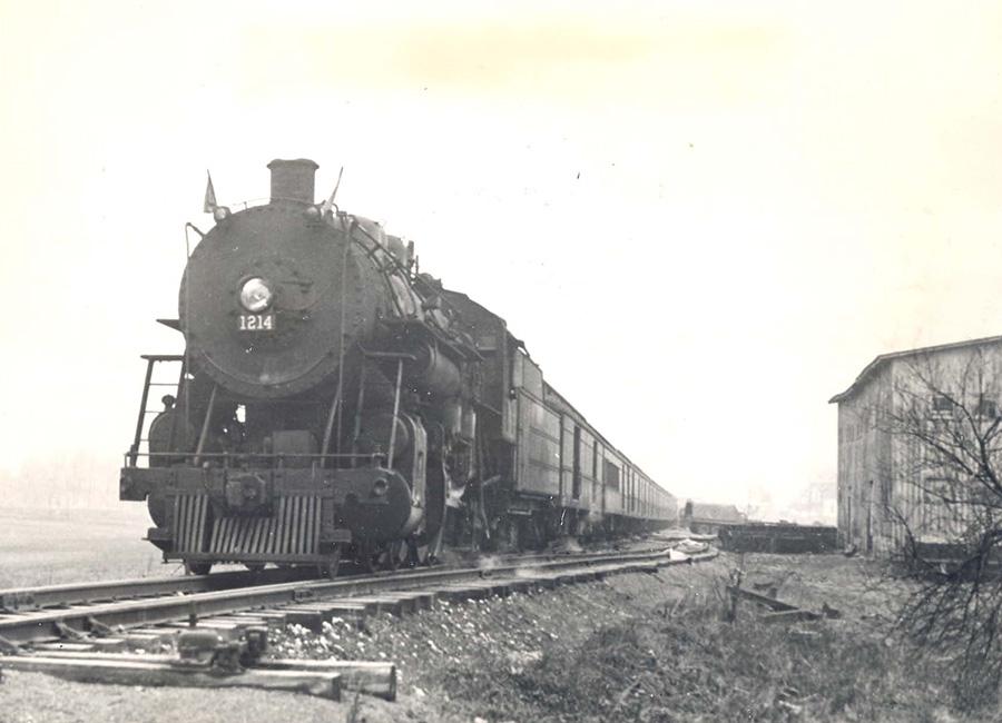 Train loaded with bullion.