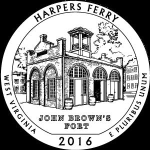 2016 harpers ferry quarter