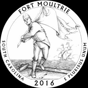2016 fort moultrie quarter