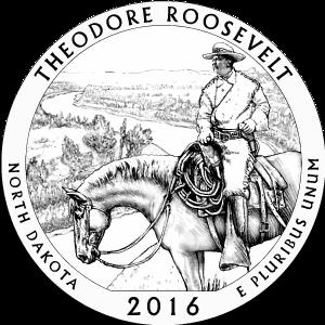 2016 theodore roosevelt quarter