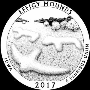 2017 effigy mounds quarter