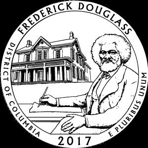 2017 frederick douglass quarter