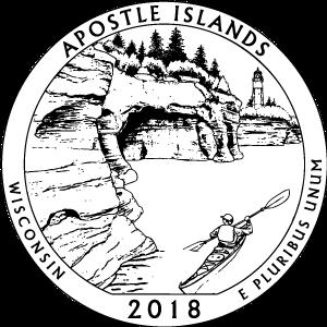 2018 apostle islands quarter