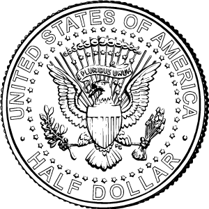 2018 half dollar reverse