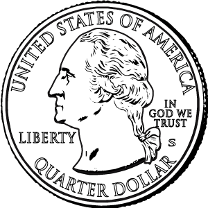 america the beautiful quarters obverse coloring page icon