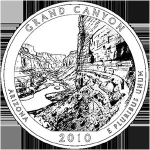 2010 grand canyon quarter
