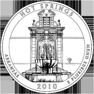2010 hot springs quarter
