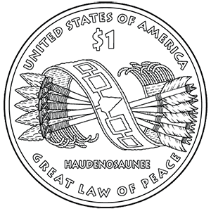 2010 native american one dollar reverse