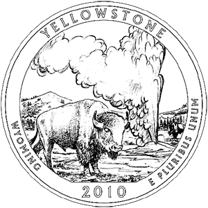 2010 yellowstone quarter