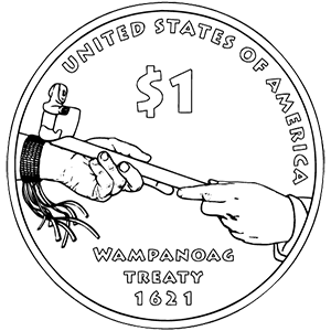 2011 native american one dollar reverse