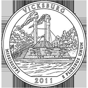 2011 vicksburg quarter