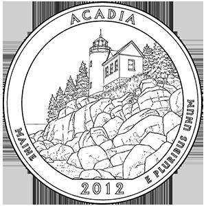 2012 acadia quarter