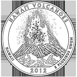 2012 hawaii volcanoes quarter