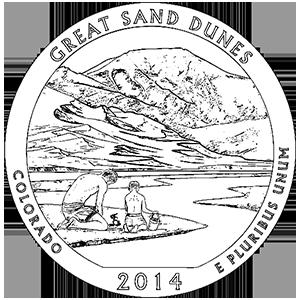2014 great sand dunes quarter