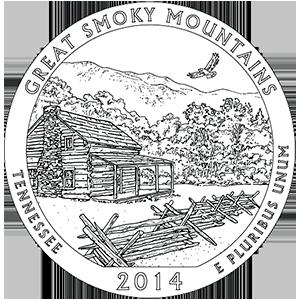 2014 great smoky mountains quarter