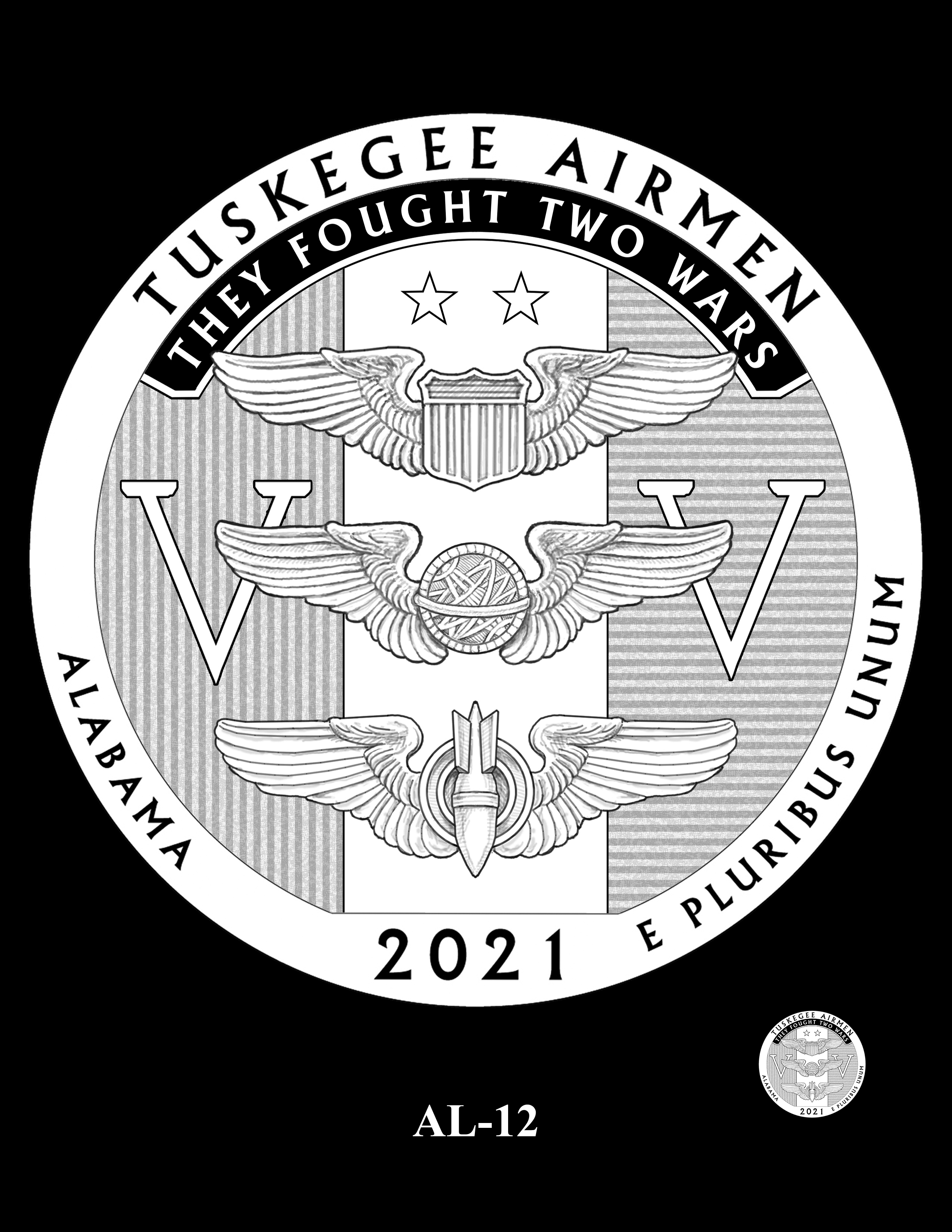 AL-12 -- 2021 America the Beautiful Quarters® Program