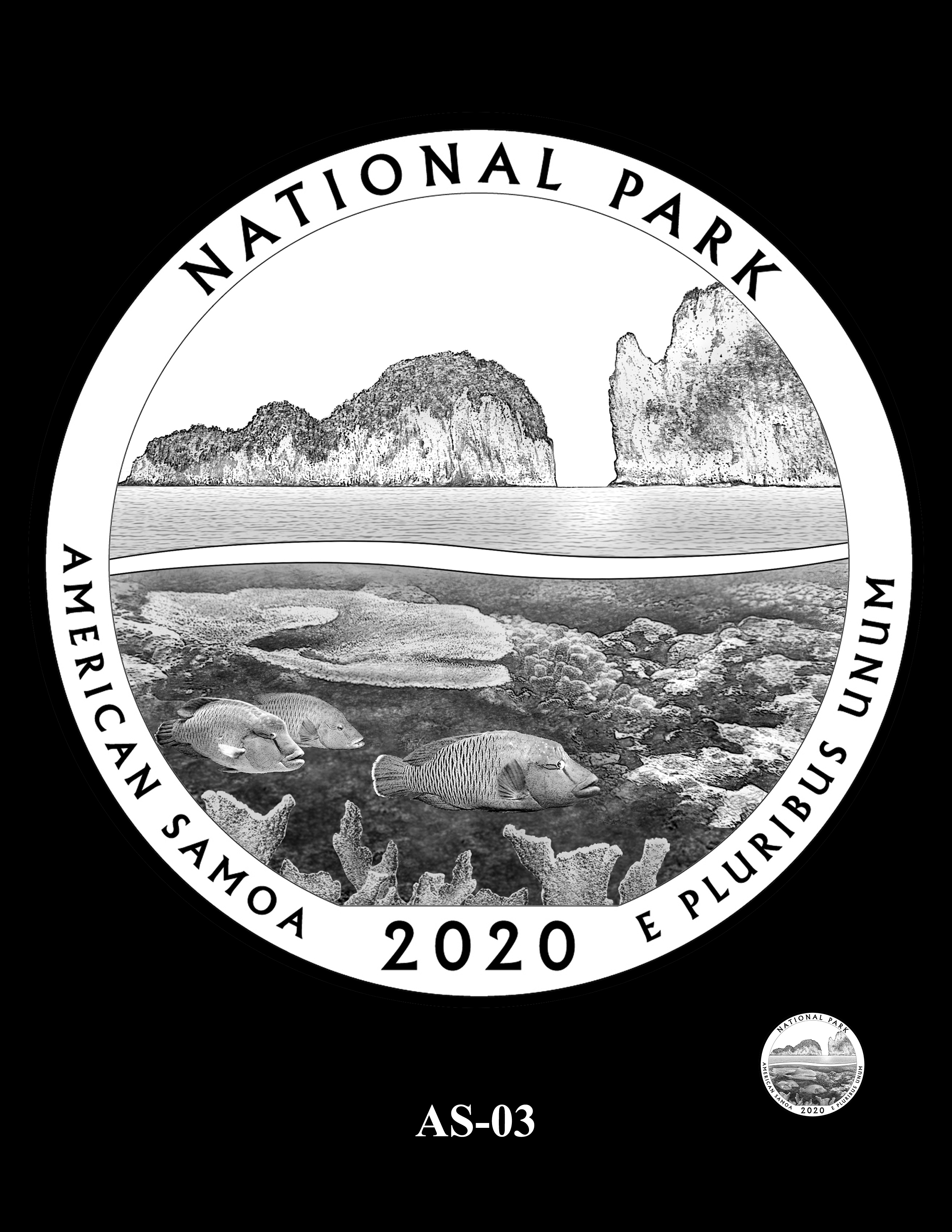 AS-03 -- 2020 America the Beautiful Quarters® Program
